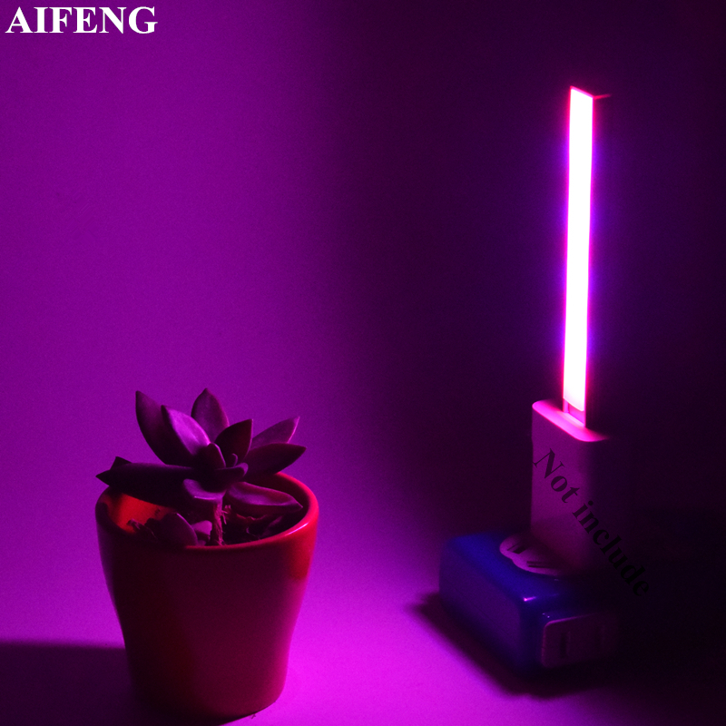 AIFENG Full Spectrum 3W 5W Led Grow Light DC 5V USB Growth Lamp Beam Red Blue Growing Light For Plants Hydroponics Flowers Seeds