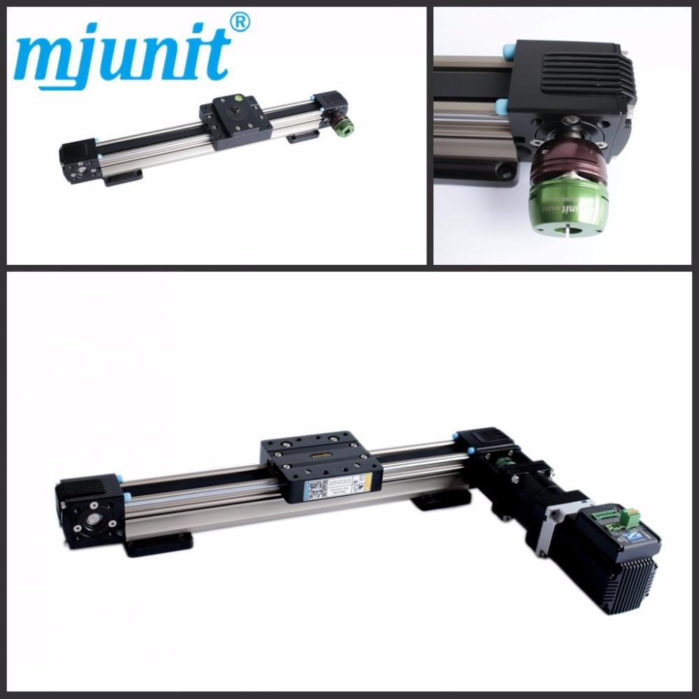 MJUNIT MJ45 High Precision And Good Price Linear Guide Rail Belt Driven Linear Slide Rail