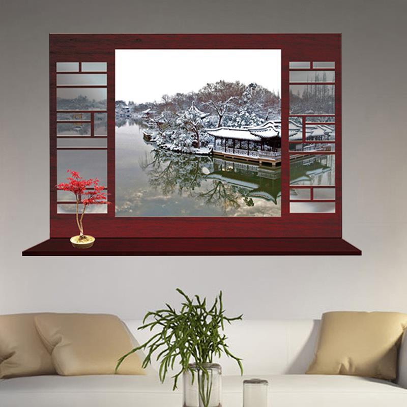 Popular Wall Decal Window Fake-Buy Cheap Wall Decal Window ...