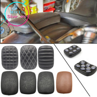 Flame Style Black Motorcycle Rear Passenger Cushion Pillion Seat Pad Suction Cups For Harley Dyna Sportster