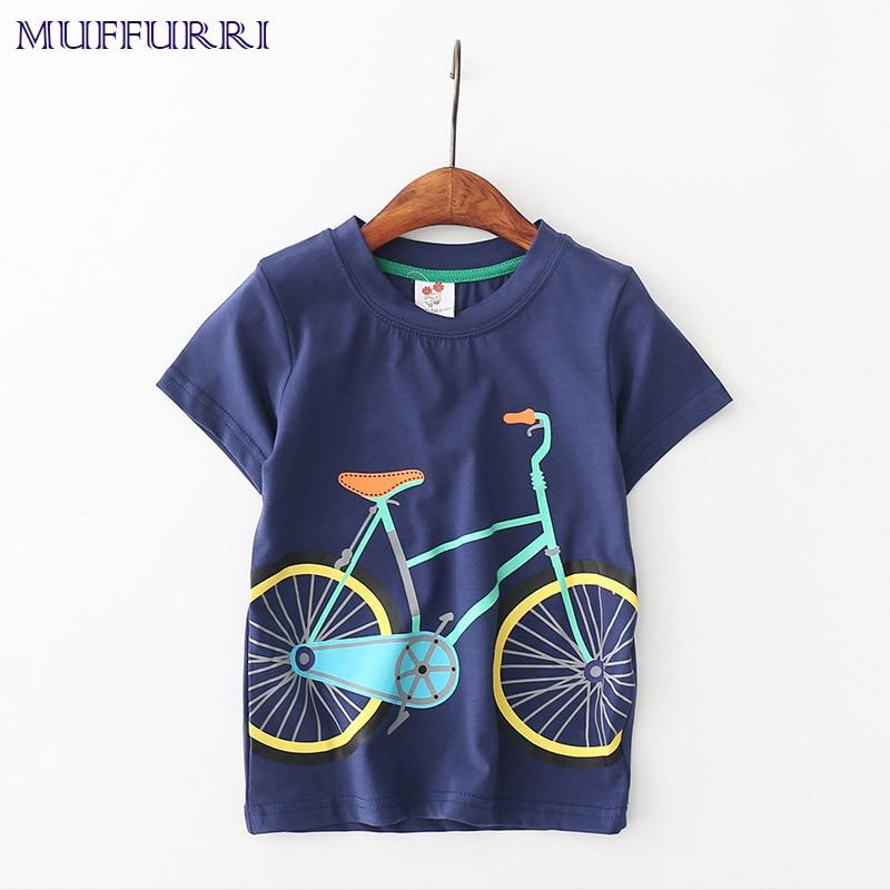 Muffurri Dzieci Letnia koszulka 2018 Nowa koszulka z krótkim - Ubrania dziecięce - Zdjęcie 1