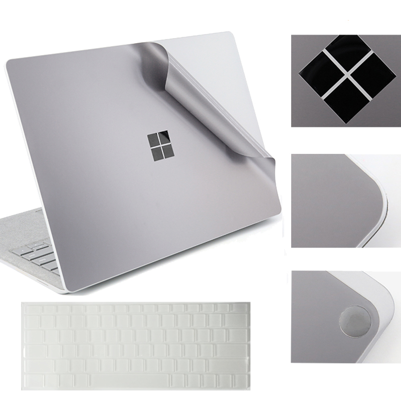 For Microsoft Surface Laptop Full Body Sticker Decals Film With Precisely Fit Keyboard Skin Cover Computer Body Protector