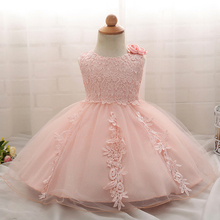 Baby Girl 1 Years Birthday Baptism Dress For Girl Party Frocks Infant Lace Christening Gown Tutu Princess Toddler Kids Clothes