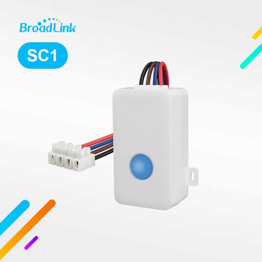 Broadlink SC1 Wifi Controller Växla Smart Home Automation Moduler Trådlös WiFi Remote Light Switch Control av Ios Android