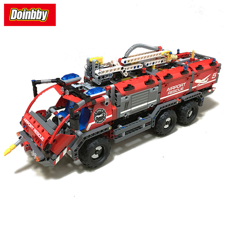 LEPIN 20055 City Mechanical Fire Accident the Rescue Vehicle Technic 42068 1180Pcs Building Block Bricks Toys lepin 20055 city technic mechanical fire accident the rescue vehicle building blocks bricks educational toys for children gifts
