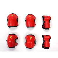 Sports Safety Set Knee Pads Elbow Pads Wrist Protector Kneepads skate board protective gear for Scooter Cycling Roller Skating