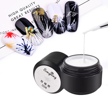 1box Painting Nail Gel Polish Pulling Silk Spider Line UV Gel Lacquer Varnish 6 Colors Nail Art Tools Manicure Design Accessory