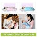 ABB Детские Пеленальный Пеленание Одеяло Младенческая Wrap Хлопок Спальный Мешок