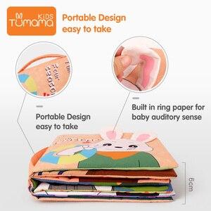 Image 5 - Tumama Libro di Panno 3D Può Essere Lavabile Panno Libro Per Bambini Libro Del Bambino Precoce Giocattoli Educativi Safty Resistente A Strappare libri Per Il Bambino