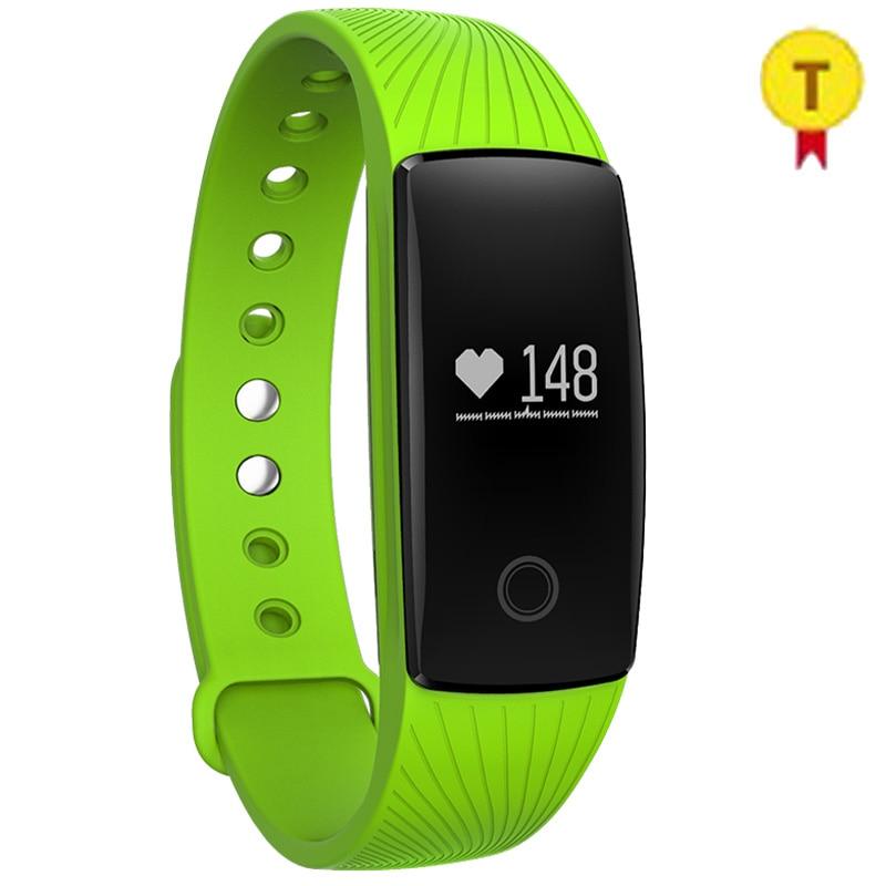 Bracelet de Sport intelligent de haute qualité Bracelet de Fitness meilleur cadeau promotionnel de noël pour dame moniteur de fréquence cardiaque intelligent