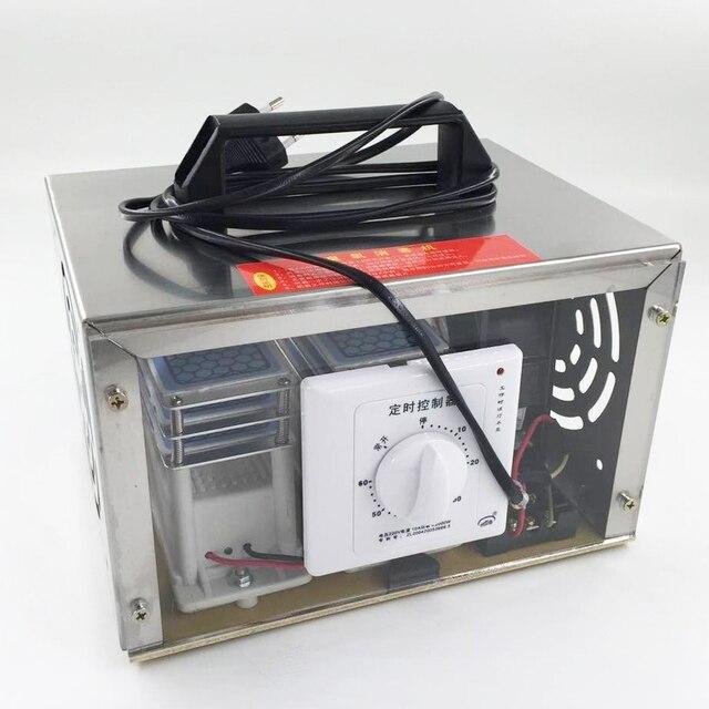 Generador de ozono O3, purificador de aire, 30 g/h, 220V