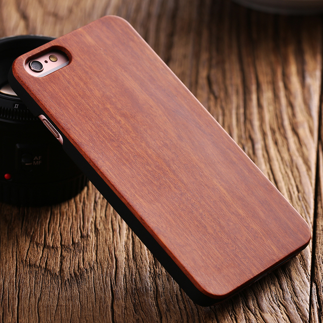 Real Wood Case for iPhone 6 6S 7 for iPhone 6 6S Plus 7 Plus