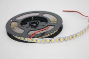 Image 2 - 120leds/m 5M led streifen SMD 5730 Flexible led band licht SMD 5630 Nicht wasserdichte weiß/warm weiß 4000K NWDC12V