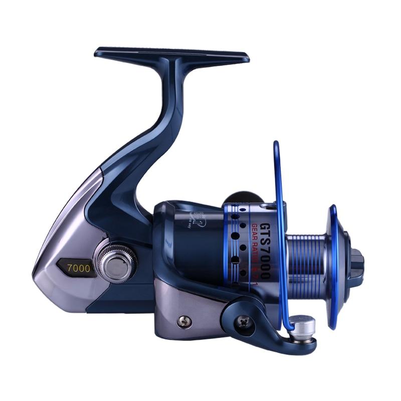 Ibun 14bb Рыбалка катушка металла прялка для Рыбалка левой и правой замены Алюминий фильеры катушки