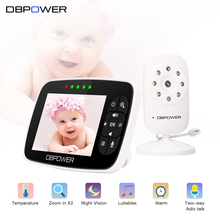 DBPOWER SM35 Video Baby Monitor 2.4G Wireless with 3.5 Inches LCD 2 Way Audio Talk Night Vision Surveillance Security Camera(China)