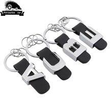 Автомобильный брелок кожаный для ключей mercedes benz a c b