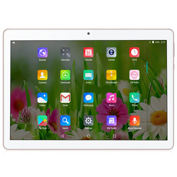 10.1 inch L Shape Tablet pc 1280*800 IPS RK3128 Android 6.0 10 points touch screen