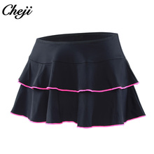 CHEJI Womens Cycling Skirt Quick Dry Outdoor Tennis Sport Skirts MTB Road Bike Bicycle Shorts