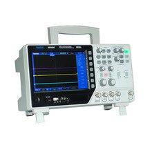 Hantek DSO4202C Цифровой Мультиметр Осциллограф ЖК USB Настольный 200 МГц 2CH osciloscopio Генератор Сигналов Произвольной Формы