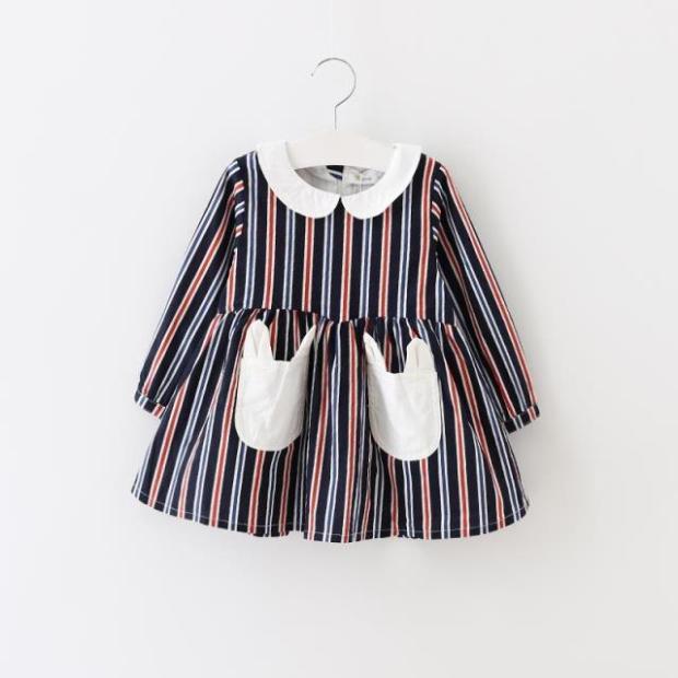 New 2016 spring dot girls dresses children s clothes children s princess gauze clothes girl dress