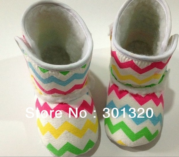 4071e147cb Aliexpress.com : Buy cute chevron baby boots free shipping,baby chevron  snow shoes,infant shoes hottest item Rainbow Chevron Crib Boots from  Reliable ...