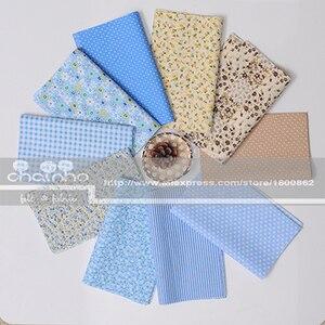 Image 4 - Random Thin Cotton Fabric Patchwork For Sewing Scrapbooking Fat Quarters Tissue Quilt Pattern Needlework Scraps 80pcs 20x24cm