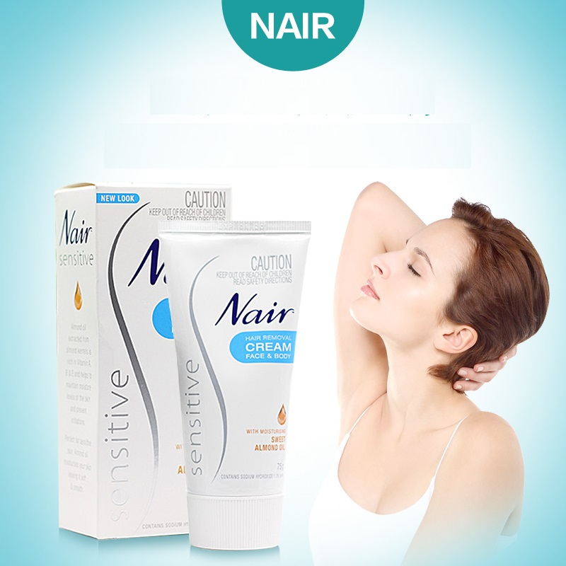 Original Australia Nair Sensitive Hair Removal Cream Gently & quickly remove hair around sensitive areas Cream for Hair Remover lakme k therapy sensitive relaxing balm sensitive hair