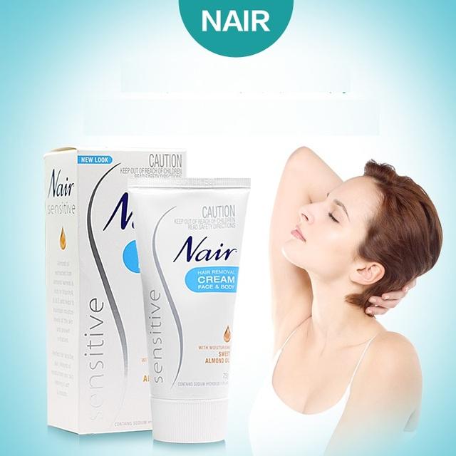 Original Australia Sensible Nair Crema de Eliminación de Pelo Suavemente y rápidamente eliminar Crema para el Cabello Removedor de pelo alrededor de las zonas sensibles