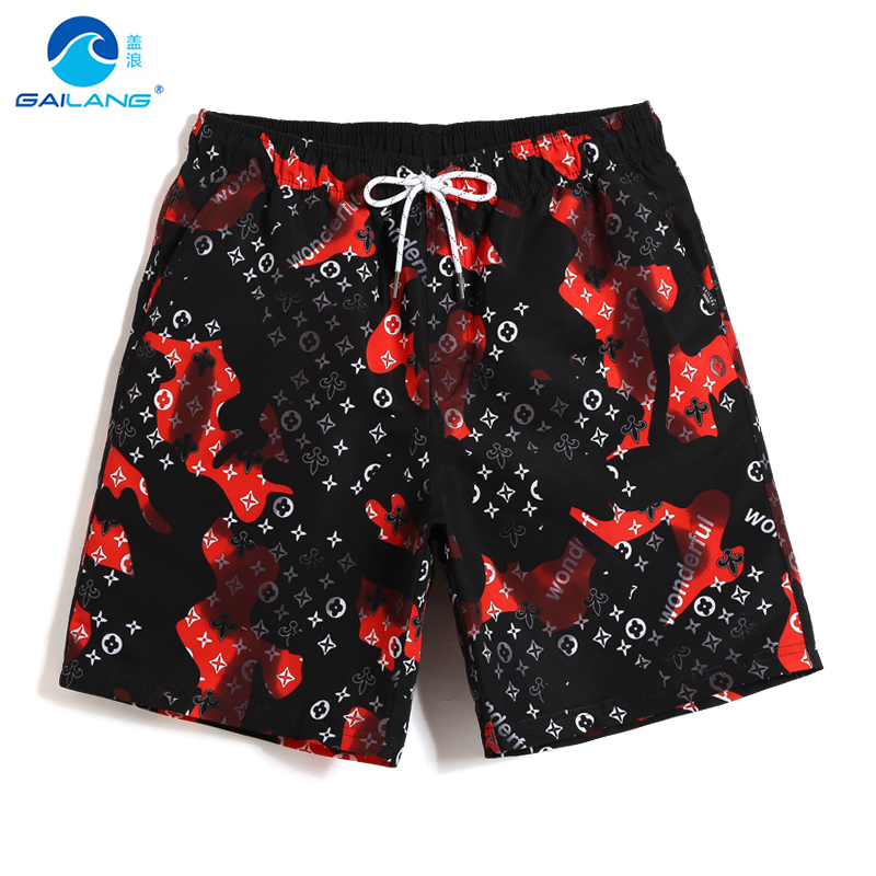Board     shorts   Men's bathing suit quick dry surfing hawaiian bermudas joggers plus size swimwear beach   shorts   breathable loose