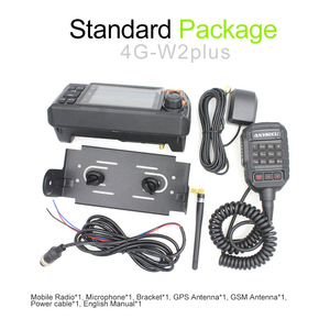 Image 5 - 4G W2Plus 4G 네트워크 라디오 안 드 로이드 7.0 N60 워키 토키 AC 어댑터 및 자동차 충전기 케이블로 실제 ptt / Zello 작동