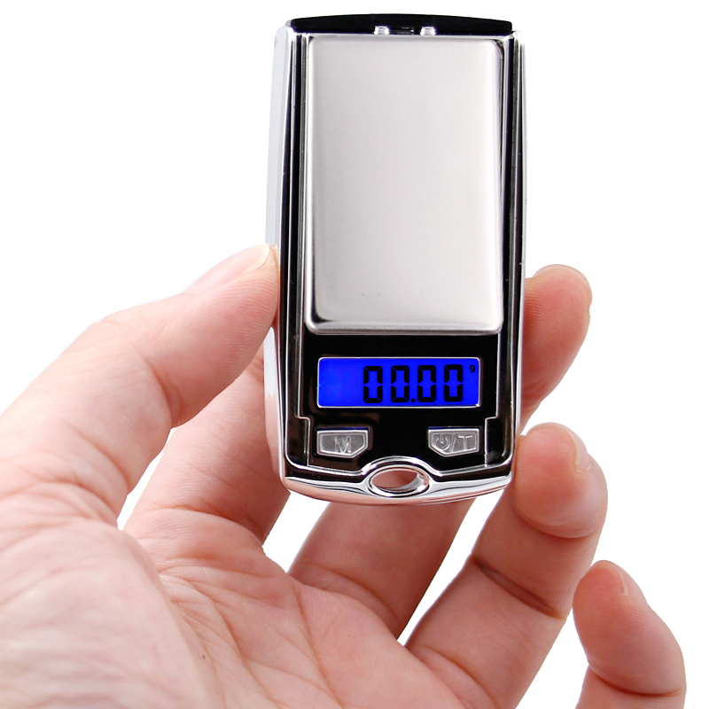 100g*0.01g mini LCD Electronic Digital Pocket Scale Jewelry Gold Weighting Scale Gram balance Weight Scales small as car key 29%