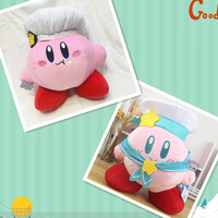 Japan new 35cm Kirby 25th anniversary plush toy stuffed toys chef and navy cute soft toy Give your child a birthday present