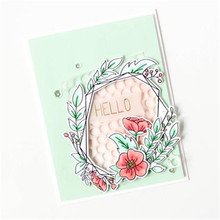 Floral Frame Metal Cutting Dies for Scrapbooking Card Making Photo Album Embossing Crafts Die Cut New 2019 for Dies(China)