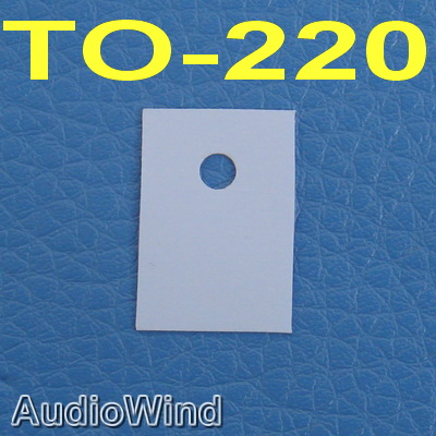 ( 50 Pcs/lot ) TO-220 Silicon Insulator,Insulation Sheet,pad.