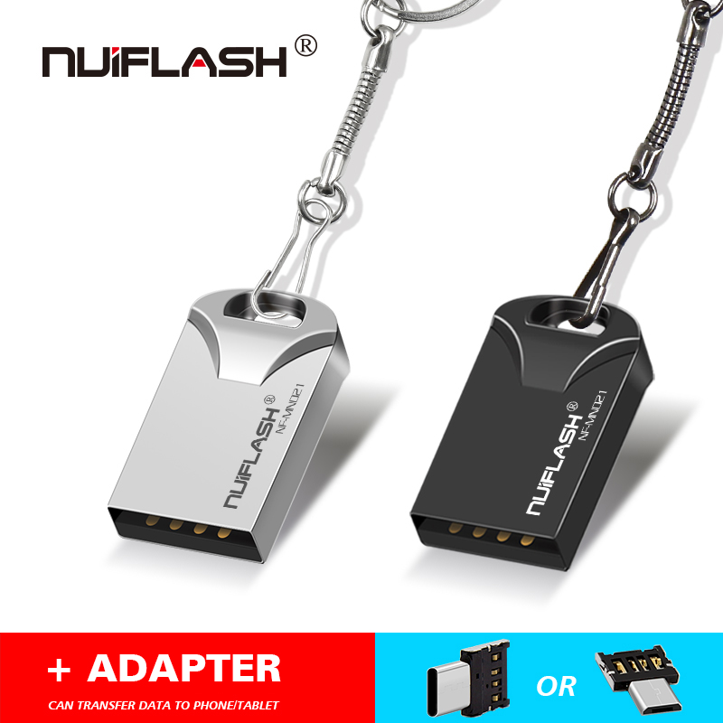 Memory-Stick Pen-Drive 8gb Flash Usb2.0 Mini Free-Otg/type-C Key-Ring Tablet 16GB 32gb Usb