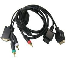 20 шт samrt AV HDTV ТВ/ПК МОНИТОР vga-компонент кабель для nintendo wii/sony PS3 консоль