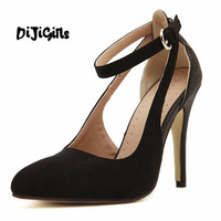 2015 New Arrival Fashion Spring New Europe And The United States Sexy Gladiator Pointed Toe High