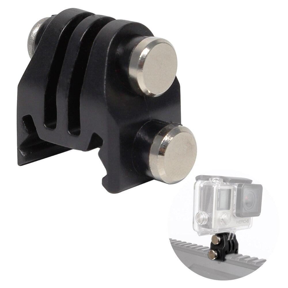 GoPro Accessories 20mm Picatinny Gun Rail Mount Airsoft Gun Adapter Kit For GoPro SJCAM Action Camera Hunting Rifle Camera Mount