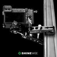 Multi function Spring Clamp Clip Holder Mount Flash Holder Ball Head Standard 1/4 Screw for SLR Digital SLR Video Cameras