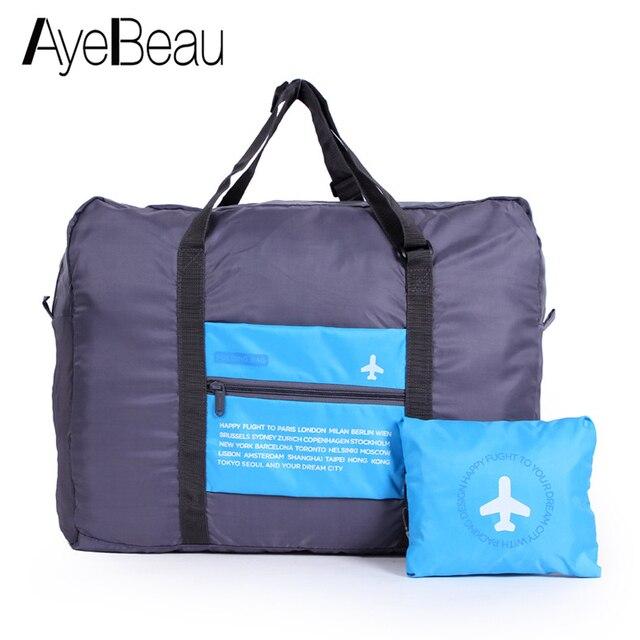 56758a9bd Plegable cabaña grande para viaje de fin de semana bolsa equipaje de mano,  bolso de