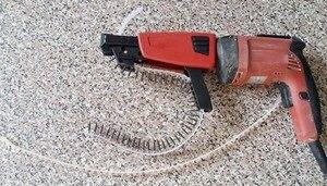 Image 5 - 100 pièces en plastique vide chaîne ceinture vis ruban vide vis bande pour Auto alimentation tournevis ruban vide bandes 50 trous