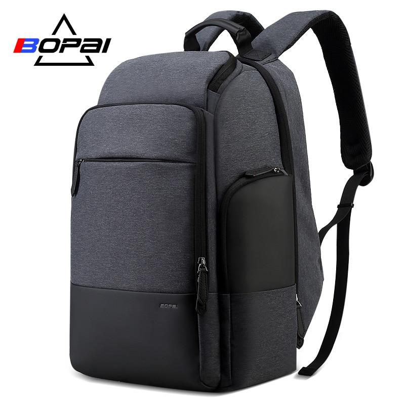 BOPAI 40 Litres grand homme voyage sac à dos week-end voyage grand sac à dos homme étanche 17 pouces sac à dos pour ordinateur portable femmes sac à dos