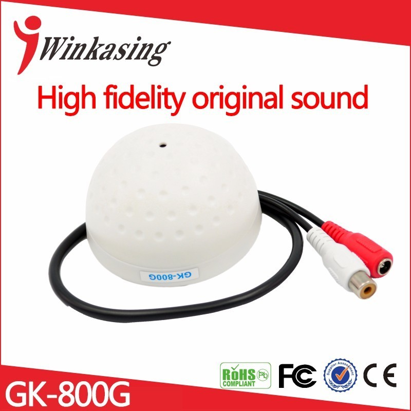 Digital Audio Analog Processor, No Noise Audio Monitor , Sound pickup Head CCTV Microphone wavelets processor