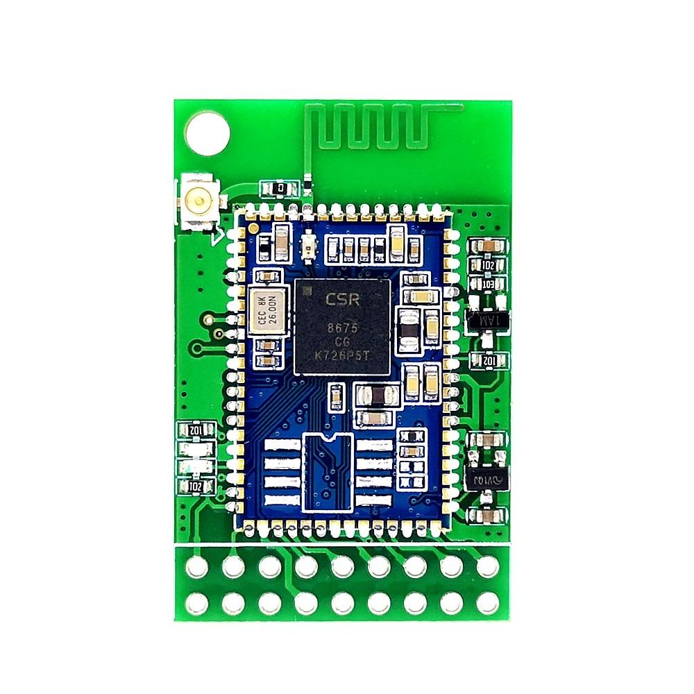 Bluetooth 5.0 Módulo De Áudio SPDIF Fibra CSR8675 PA213 I2S IIS APTX-HD I2S + SPDIF + Diferencial Diferencial