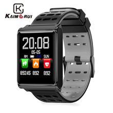 Kaimorui Smart Bracelet Men Pedometer Heart Rate Tracker Bluetooth Smartband Call Reminder Wristband for Androidn IOS Phone smart watches men sports bracelet wristband oled heart rate message reminder pedometer calorie bluetooth for ios android phone