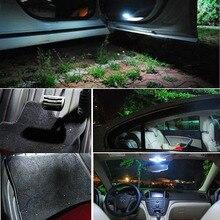 10Pcs Auto T10 Led Cold White 194 W5W LED 168 COB Silica, Car Super Bright Turn Side License Plate Light Lamp Bulb DC 12V