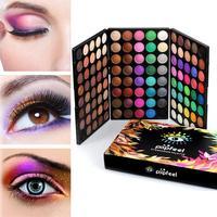 Chuyên nghiệp Eyeshdow Palette Mini 120 Màu Bóng Mắt Ngọc Trai Lady Phụ Nữ Trang Điểm Mỹ Phẩm Công C