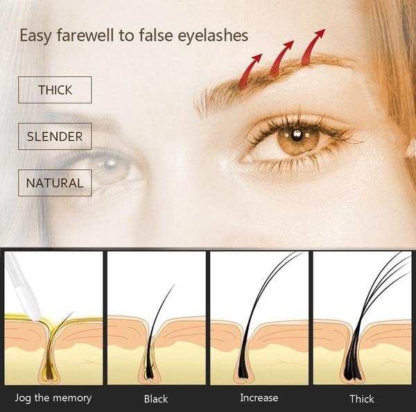 Eyebrow Enhancers Natural Castor Oil Brow Growth Liquid Eyes Makeup Eyebrows Longer Thick Make Up Cosmetics 10ML 3