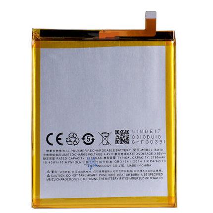 For Meizu U10 Battery BU10 Compatible MeiBlue U10/U680A 2760mAh Battery Replacement High Quality Battery Parts Smart Phone