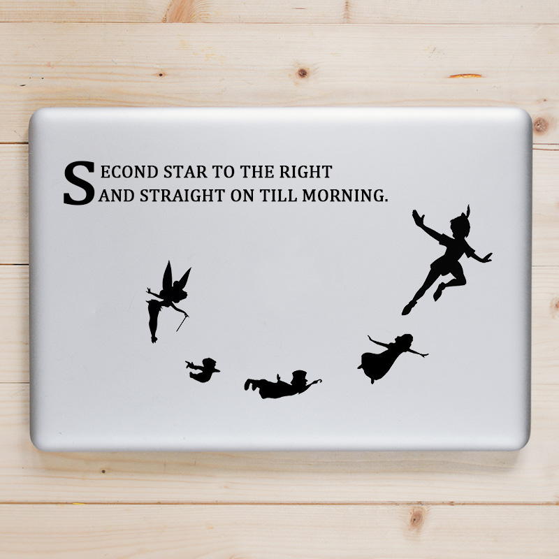 Peter Pan Fairy Tale Laptop Decal for font b Apple b font font b Macbook b